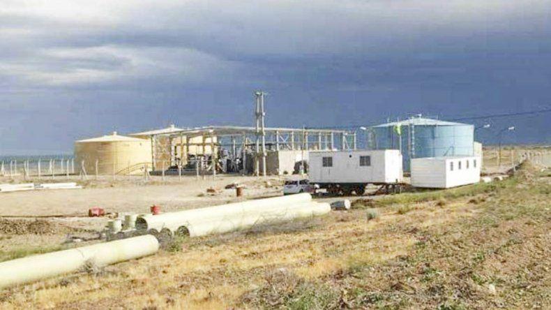 La Planta de ósmosis inversa de Deseado quedó fuera de servicio al quemarse un componente electrónico.