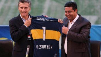 Macri sobre Boca: tuvimos el accidente de que River nos eliminó cinco veces seguidas