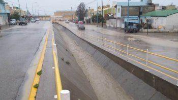 los pluviales funcionaron ante los mas de 53 mm de agua