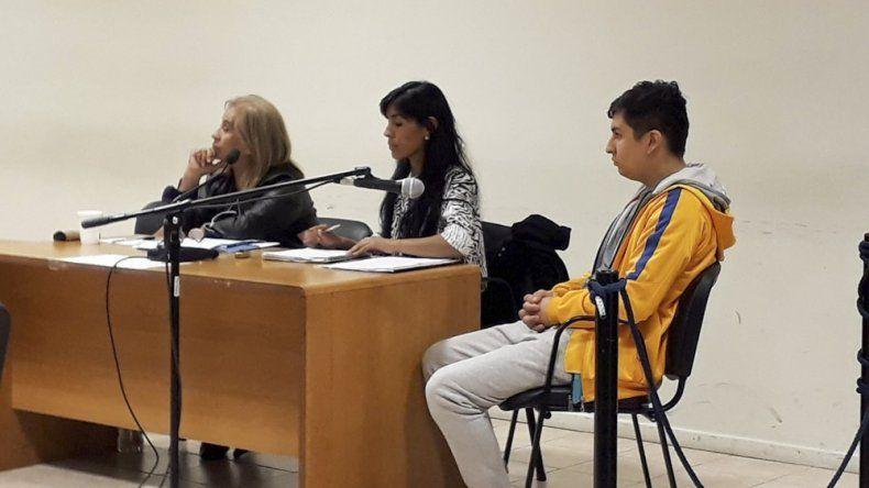 Renzo Muñoz afrontó ayer la audiencia de control de detención y aceptó declarar.