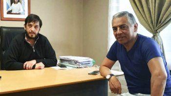 Los jefes comunales de Perito Moreno y de Cañadón Seco se reunieron para aunar estrategias.