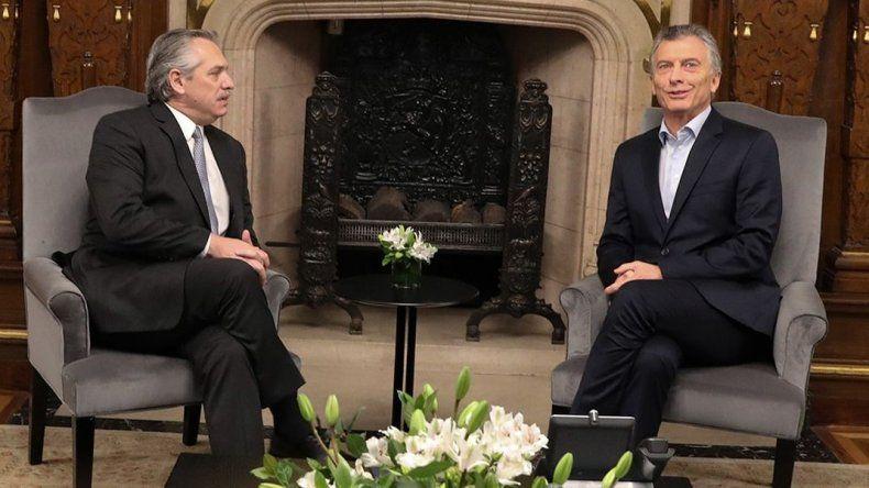 Macri le pide a Fernández que reconozca a la presidenta de Bolivia