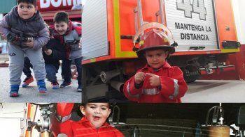bomberos realizaran colecta de golosinas para entregar en navidad
