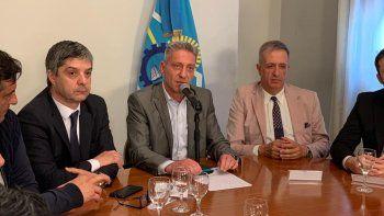arcioni anuncio el nuevo gabinete y confirmo el retorno de massoni