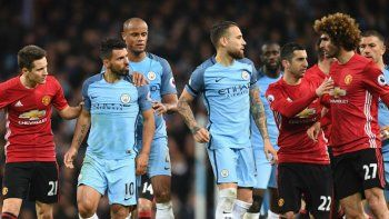 manchester city, sin agüero, recibe a united en el clasico de la ciudad