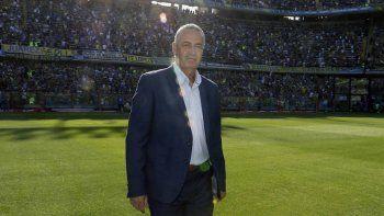 Gustavo Alfaro podría dirigir hoy mismo su último partido como entrenador de Boca.