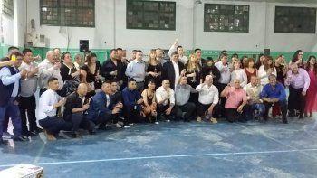 la comisaria de km 8 festejo  el dia de la  policia del chubut