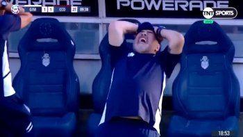 El blooper de Maradona que se volvió viral
