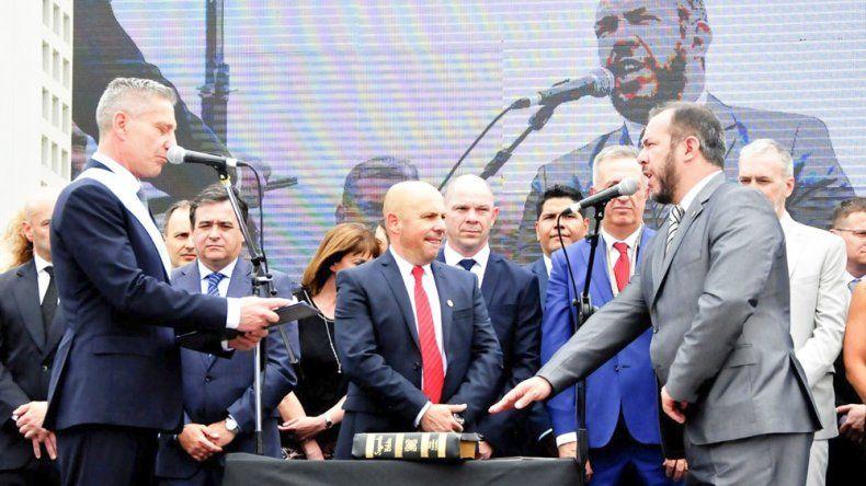 José María Grazzini presidía hasta ayer la Legislatura. Ahora será ministro de Gobierno de Arcioni.