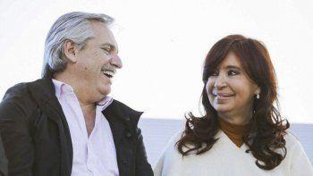 Alberto Fernández y Cristina Kirchner, los más votados en las PASO y los ganadores de la elección general del 27 de octubre, cuando le sacaron 8 puntos de ventaja a la fórmula Macri-Pichetto.