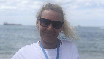 Con una familia arraigada al mar, Claudia Marangoni se convirtió en la primera presidenta del Club Social y Deportivo Neptuno.