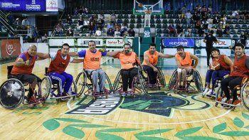 se viene la presentacion de la liga patagonica de basquet adaptado
