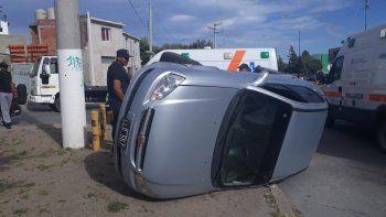 nino trasladado al hospital tras un accidente de transito