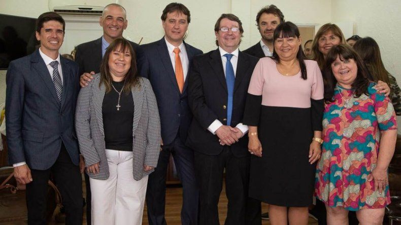 Juncos renovó su gestión con algunos cambios en su gabinete