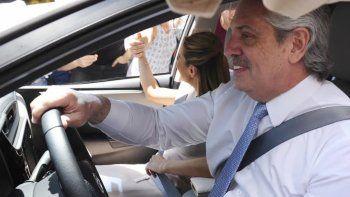 El número de la patente del auto de Alberto Fernández salió en la quiniela