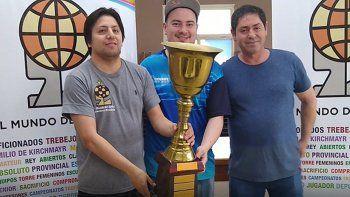 Andrés Aguilar y Maximiliano Aguinaga fueron los protagonistas de la definición 2019 de El Mundo del Ajedrez.