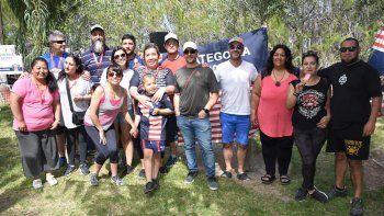La familia de Comodoro RC vivió un sábado distinto en su predio.