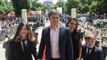 Axel Kicillof juró como gobernador de Buenos Aires
