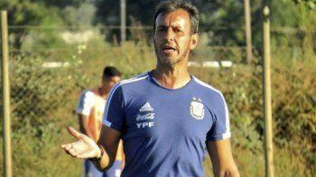 Fernando Bocha Batista, DT de la selección argentina Sub 23 de fútbol.