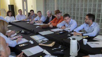 El encuentro que Juan Pablo Luque mantuvo ayer en el CEPTur con los integrantes de su gabinete.