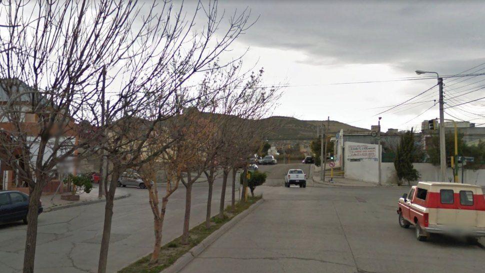 Figueroa Alcorta y Salta. En este lugar dijo la madre del niño de 10 años que su hijo intentó ser secuestrado.
