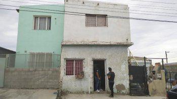 La vivienda de María Concilia, en el Quirno Costa, donde se encontró una cocina de estiramiento de cocaína.