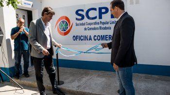 Inauguraron el servicio de internet por fibra óptica en Rada Tilly