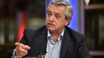 Alberto Fernández eligió la red social Twitter para anunciar una serie de medidas.