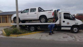 Secuestran en Rada Tilly una camioneta robada en Comodoro
