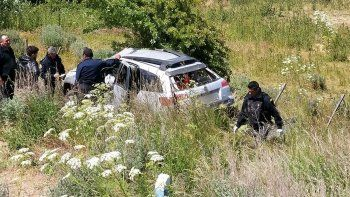 Un hombre murió tras volcar en el acceso a Esquel