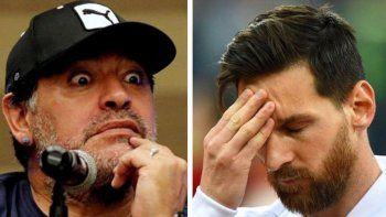 Proponen pagar la deuda externa con plata de Maradona y Messi