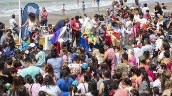 Los Reyes Magos estuvieron en la costanera