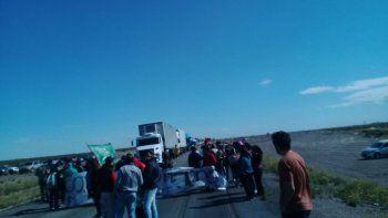 Estatales levantaron el corte de ruta en Madryn