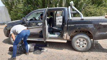 detienen a dos hombres con una camioneta robada en comodoro