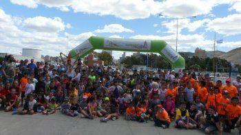 Alrededor de 200 niños participaron de la 8ª edición de la Corrida Día de Reyes.