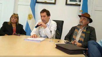 Luque avanzó en gestiones por obras urgentes y políticas públicas
