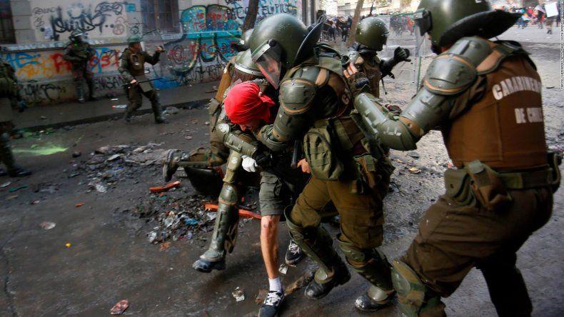 La OEA elogió al gobierno de Piñera luego de las incontables denuncias de violaciones a los DDHH