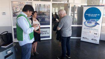 Trabajadores de ATE reclaman en Camuzzi que no le corten el servicio