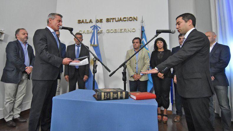 Giacomone juró como nuevo Fiscal de Estado
