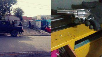 por el robo en una feria secuestran una replica de arma fuego