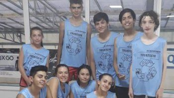 Integrantes de la escuelita de triatlón de Acuarium representarán a Comodoro Rivadavia en una prueba internacional.