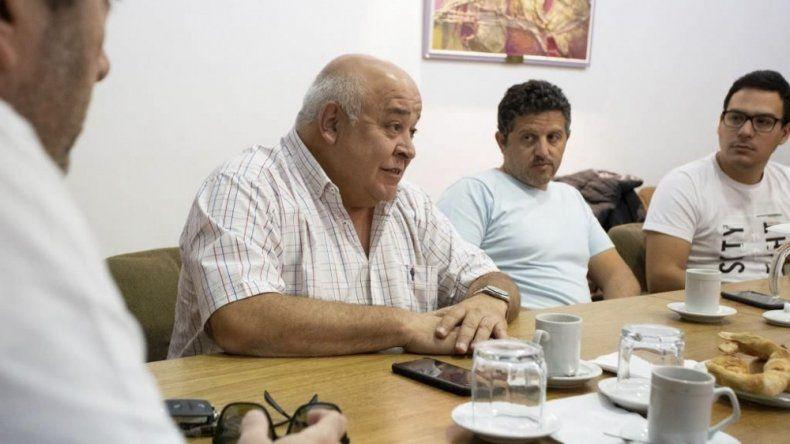 Ricardo Gaitán mantuvo una reunión con integrantes de la Cámara de Comercio.