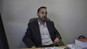 El funcionario de fiscalía Lucas Kolsch fue el encargado de fundamentar los cargos contra el imputado.