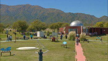 el parque astronomico de la punta, atractivo de san luis