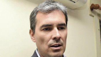 Martín Cerdá, ministro provincial de Hidrocarburos.