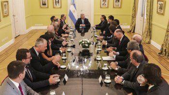 El encuentro que el presidente Alberto Fernández mantuvo el jueves con los representantes de las principales compañías petroleras de la Argentina.