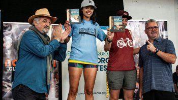 Caleta Córdova albergó la 5° fecha provincial del Triatlón