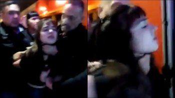 Patovica ahorcó a una joven y quedó filmado