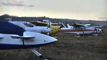 Todos unidos por el Aeroclub El Bolsón