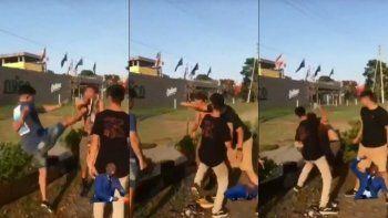 Difunden el video de otra golpiza en manada a un joven